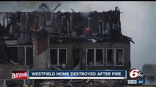 $700,000 Westfield home destroyed in fire - Video