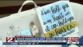 Device donation to help grieving families