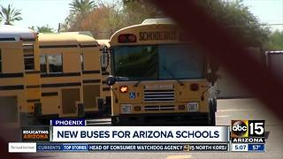 New buses for Arizona schools - Video