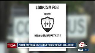 White supremacist group's recruitment fliers have Columbus residents on edge