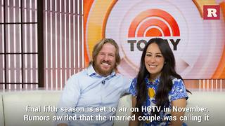 Chip and Joanna Gaines talk about Fixer Upper rumors | Rare People - Video