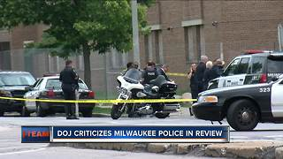 DOJ review calls for investigation changes after officer shootings - Video