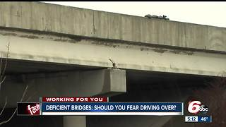 2016 report says nearly eight percent of bridges in Indiana are deemed structurally deficient