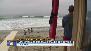 New Carlsbad Lifeguard program expands in 2nd summer