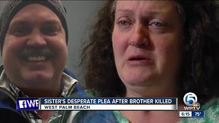 Sister of hit-and-run victim makes desperate plea to find driver - Video