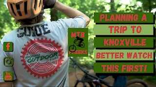 Watch this video before planning your mountain biking trip to Knoxville