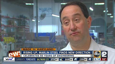 Rising up, Marlin Steel finds new direction