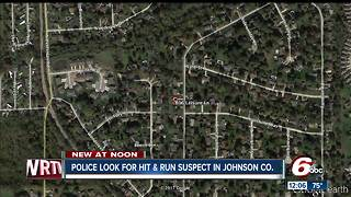 Woman hospitalized after hit-and-run in Johnson County - Video