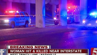 Woman Hit, Killed Crossing West Trinity Lane - Video