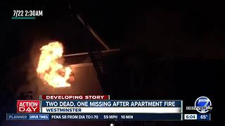 Deadly Westminster Fire Monday morning update