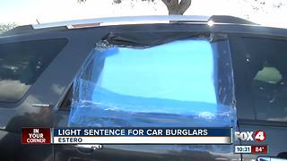 No charges for Christmas Day car burglar - Video