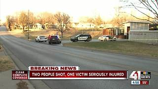 Argument leads to double shooting in KCK, police say - Video