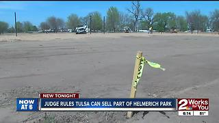 Judge's ruling allows city to move forward on Helmerich Park - Video