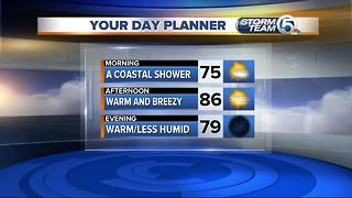 Tuesday midmorning forecast - Video