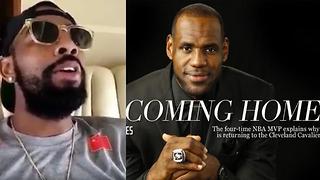 "Kyrie Irving Sings ""I'm Coming Home"" to TROLL LeBron James - Video"