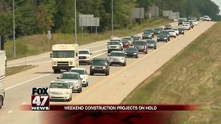 MDOT puts brakes on several construction projects for holiday weekend - Video