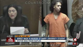 Man arrested in Barry University student's death - Video
