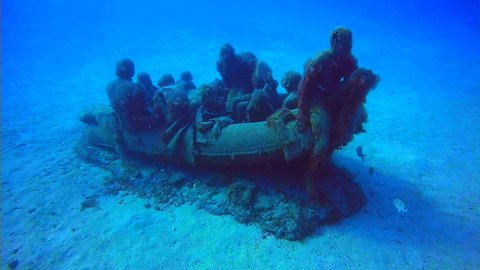 Underwater Museum Acts As A Safe Haven For Protecting Marine Life