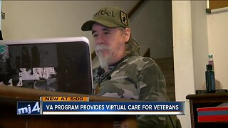 A new computer program that is helping veterans after they return home