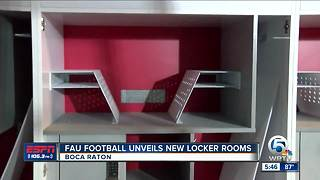 FAU unveils new locker room