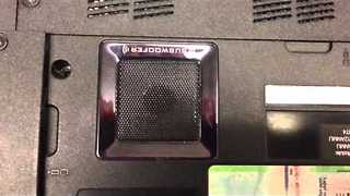 Subwoofer in Laptop Not Exactly What it Seems - Video