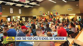 Get involved on Dads Take Your Child to School Day