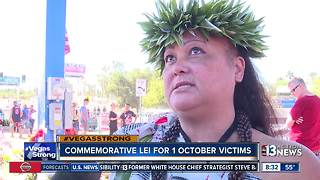 Commemorative lei for 1 October victims - Video