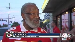 Chiefs flags at McDonald's benefit Ronald McDonald House charities - Video