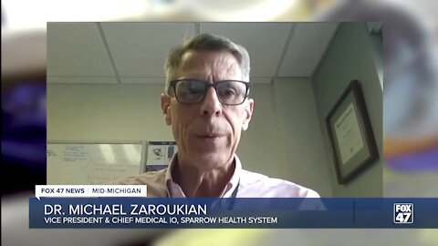 Dr. Michael Zaroukian, the vice president and chief medical information officer with Sparrow Health System
