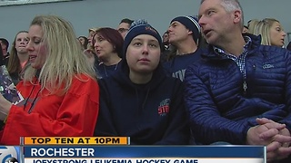 Joeystong hockey game - Video
