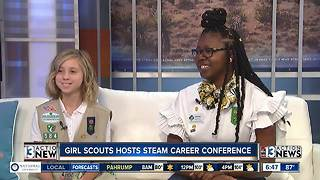 Girl Scouts hosting STEAM career conference - Video