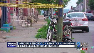 Officers respond to report of shooting