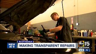 New technology aims to build trust at auto shops - Video