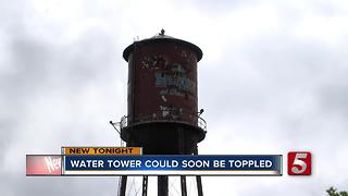 The Factory Water Tower May Come Down - Video