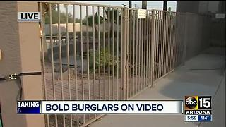Surprise Police investigating string of burglaries - Video