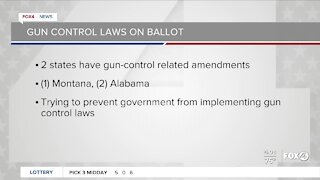 Gun control laws on ballots