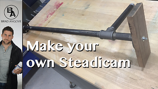 How to make your own steadicam for cheap - Video