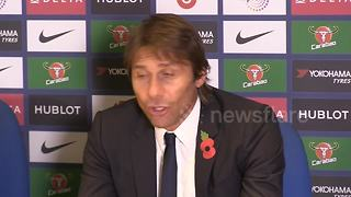 Conte: I don't feel pressure of being sacked - Video
