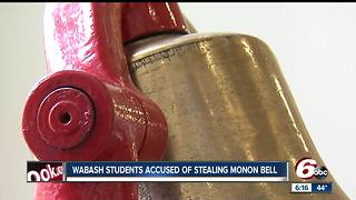 Wabash students charged after trying to steal the Monon Bell at DePauw