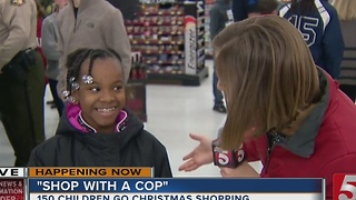 Kids In Williamson County 'Shop With A Cop' - Video