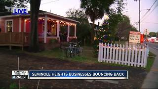 Seminole Heights businesses bouncing back - Video
