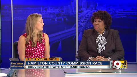 This Week in Cincinnati: Stephanie Dumas discusses the race for Hamilton County Commissioner (Part 3)