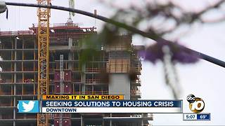 Seeking solutions to housing crisis - Video