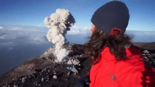 Mount Semeru Erupts, Sends Plumes of Ash Into Sky - Video