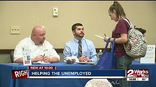 Helping the unemployed in Rogers County