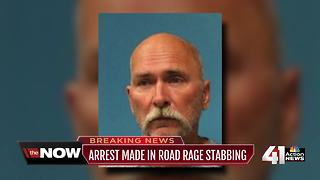 Man charged in apparent road rage stabbing - Video
