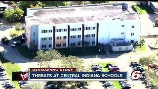 Threats to central Indiana schools cause concern among citizens, students and parents - Video