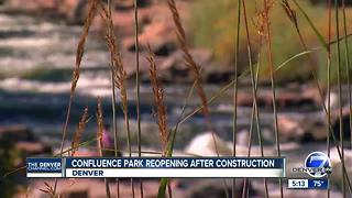 Confluence Park reopening after construction - Video