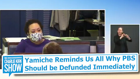 Yamiche Reminds Us All Why PBS Should be Defunded Immediately