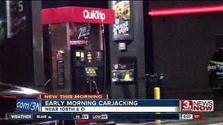 Carjacking reported at QuikTrip - Video